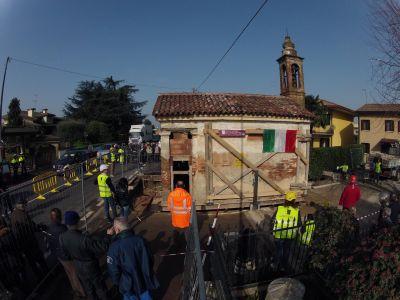 Spostamento Oratorio Santa Giustina in Colle 2