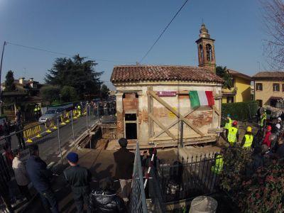 Spostamento Oratorio Santa Giustina in Colle 3