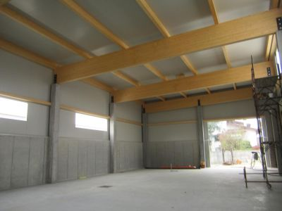Ampliamento fabbricato industriale in c.a. e legno a Galliera Veneta (PD)