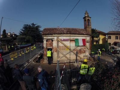 Spostamento Oratorio Santa Giustina in Colle 1