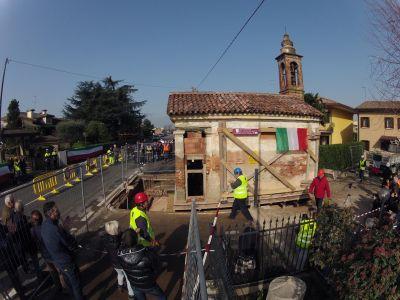Spostamento Oratorio Santa Giustina in Colle 5